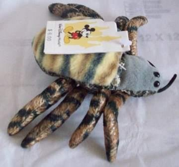 Disney Animal Kingdom Tarantula Bean Bag Puppet Bug - 1