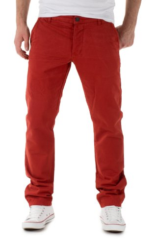 Jack & Jones Herren Chino Hose by Jack and Jones Jeans H/M 2013 Star MOD 6307 rot D.G