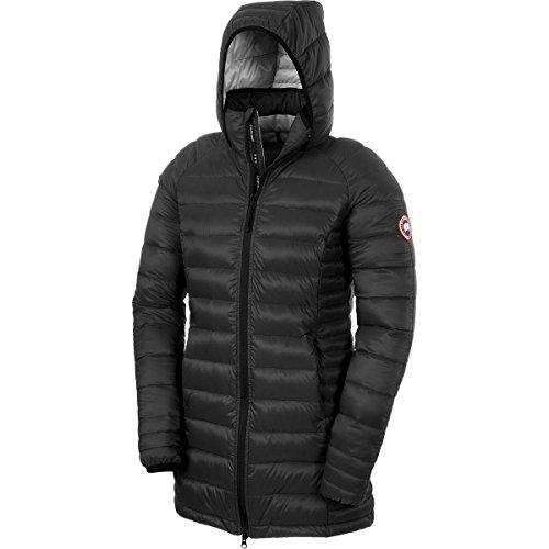 Canada Goose Brookvale Coat - Women's Black / Graphite Small (Coats Canada Goose Women compare prices)