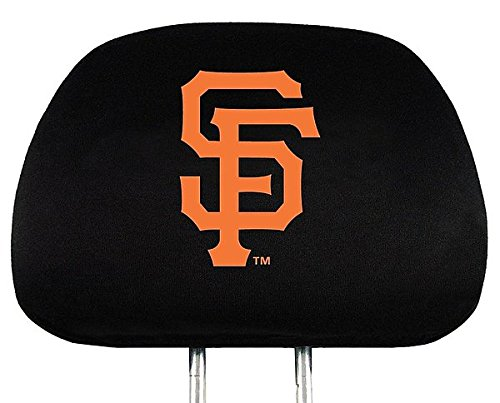 San Francisco Giants Headrest Covers - Licensed MLB Baseball Gift (Sf Giants Headrest Covers compare prices)