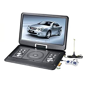 Brand New 14 inch portable DVD Player MP4 MP3 Superwide LCD Screen AVI VOB VGA