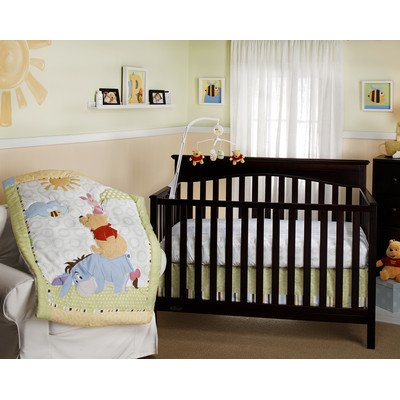 Bundle-50 Playful Pooh Crib Bedding Collection (2 Pieces) front-15232
