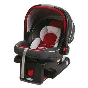 Graco SnugRide Click Connect 35 Car Seat, Chili Red