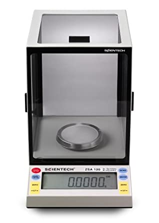 Scientech Zeta Series Dual Mode Analytical Balance, 100/200g Capacity, 0.1/1mg Readability