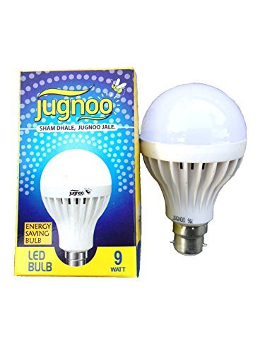Jugnoo-9W-B22-LED-Bulb-(white-,-Set-of-10)