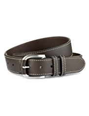 Blue Harbour Leather Square Buckle Belt