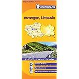Michelin Auvergne-Limousin 522 Regional France (Michelin Maps)