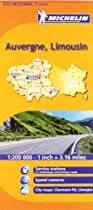 Michelin Map Auvergne/Limousin, France (Michelin Maps)