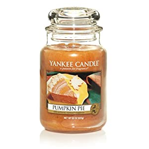 Yankee Candle Pumpkin Pie Large Jar Candle