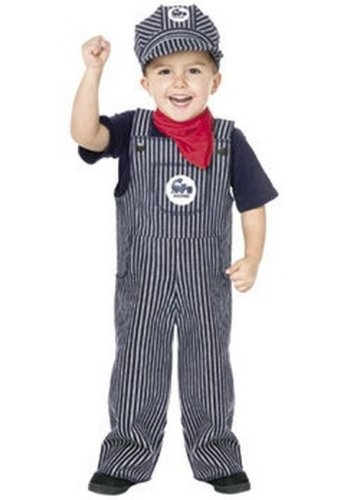Fun World Fun World Toddler Train Engineer Conductor