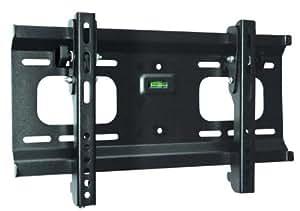 "Ultra-Slim Black Adjustable Tilt/Tilting Wall Mount Bracket for Sceptre X240LV-FHD 24"" inch LCD HDTV TV/Television - Low Profile"