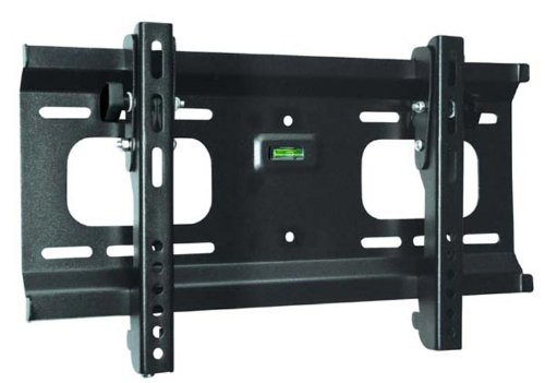 "Ultra-Slim Black Adjustable Tilt/Tilting Wall Mount Bracket For Insignia Ns-32Ld120A13 32"" Inch Lcd Hdtv Tv/Television - Low Profile"