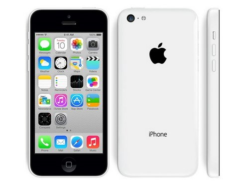 Mobiltelefon Apple IPhone 5C 16 GB White