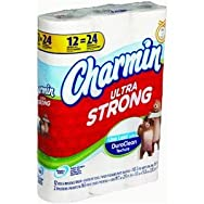 Charmin Ultra Strong Toilet Tissue-12DBL RL STR CHAR TISSUE