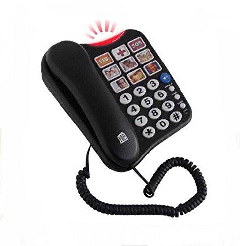Téléphone avec touches photos