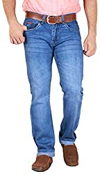 GOSWHIT Men's Straight Fit Jeans - 32