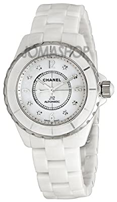 Chanel Men's H2423 J12 Diamond Dial Watch