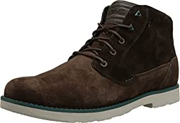 Teva Men\'s M Mason Suede Chukka Boot, Chocolate Brown, 7.5 M US