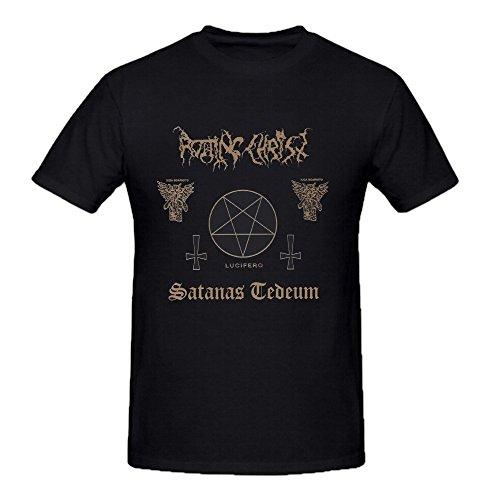 Rotting Christ Satanas Tedeum Uomo Tee Shirts