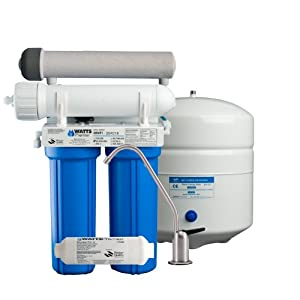 Watts Premier 500272 5 Stage Ultra Violet Reverse Osmosis Water System Undersink Water