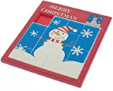 Christmas Snowman or Penguin Giant Slide picture Puzzle