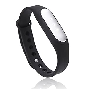 Xiaomi Lightweight IP67 Smart Wireless Bluetooth4.0 Healthy Sports Miband Bracelet for Mi3 Mi4 Redmi Note 4G iPhone 4S 5 5C 5S 6 6 Plus with IOS7.0 or Above