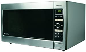 Panasonic NN-SD667S 1-1/5-Cubic-Foot 1300-Watt Microwave Oven, Stainless Steel