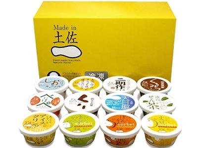 高知アイス Made in 土佐大満足セット12個入り