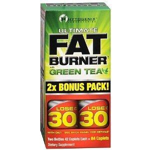 Phytogenix Ultimate Fat Burner With Green Tea , Caplets, 84 Ea