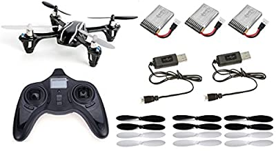 Hubsan X4 H107L RTF Combo LED RC QuadCopter Upgraded V2 UFO Drone 2.4GHz 4-CH 3D