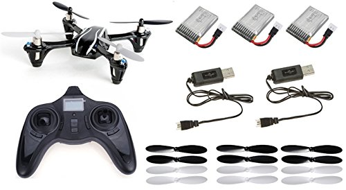 Hubsan-X4-H107L-RTF-Combo-LED-RC-QuadCopter-Upgraded-V2-UFO-Drone-24GHz-4-CH-3D