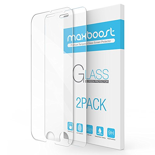 iPhone-7-Plus-Screen-Protector-Maxboost-2-Pack-Tempered-Glass-Screen-Protector-For-Apple-iPhone-7-Plus-iPhone-66s-Plus-3D-Touch-Compatible-02mm-Screen-Protection-Case-Fit-Clear