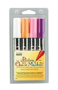 Uchida 480-4B 4-Piece Bistro Chalk Marker Set