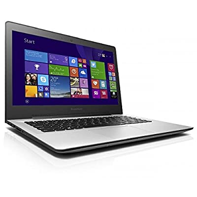 Lenovo U41-70 80JV007DIN 14-inch Laptop (Core i3 5005U/4GB/1TB/Windows 8.1/Integrated Graphics), Silver