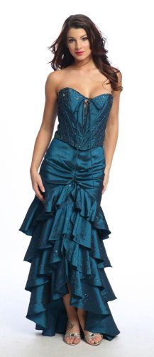 Graduation Dresses - Sexy Elegant Strapless Full Length Formal Dress :  prom elegant dress wedding dress