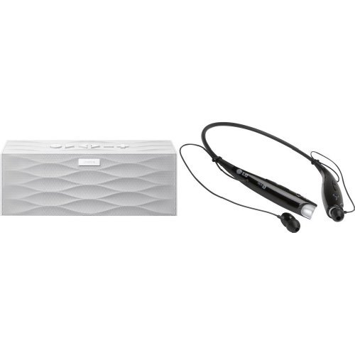 Music Lover Bundle: Jawbone Big Jambox Bluetooth Speaker With Lg Tone+ Bluetooth Headset