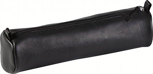 clairefontaine-trousse-ronde-cuir-oe55x22-cm-noir-8320c