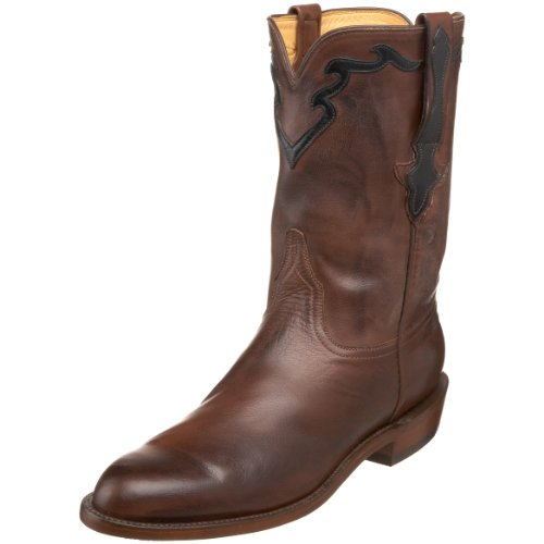 Lucchese Classics Men's L3555.R9 Western Boot,Whiskey,7.5 EE US