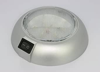 battery powered led dome light magnetic or fixed mount high power white led. Black Bedroom Furniture Sets. Home Design Ideas