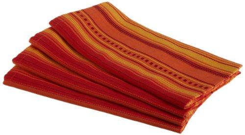 DII Hacienda Bonita Raja Woven Stripe Cloth Napkin