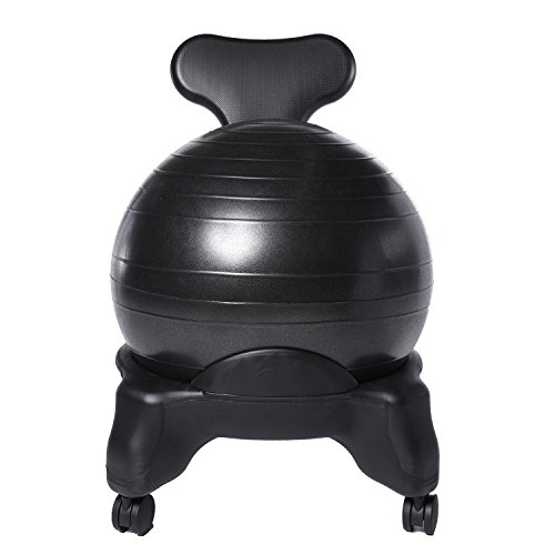 Ivation Balance Exercise Ball Chair - Office-Size 60mm/2.5