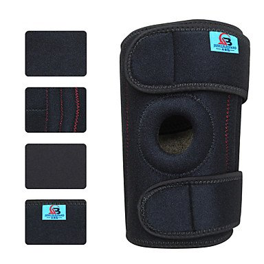 ZX Outdoor Lycra Adjustable Climbing Knee Pad (1PCS) multifunctional professional handle pulley roller gear outdoor rock climbing tyrolean traverse crossing weight carriage fit