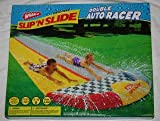 Slip d Slide:Wham-O unique Slip'N slip Double car Racer drinking water Slide