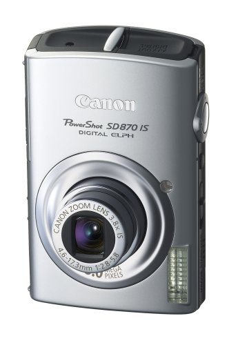 Canon PowerShot SD870 IS is one of the Best Ultra Compact Point and Shoot Digital Cameras for Low Light Photos Under $300