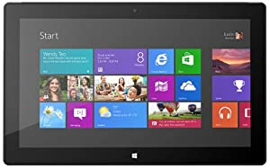Microsoft Surface Pro 128GB -  Black Windows Tablet
