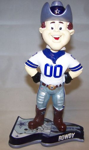 Rowdy Dallas Cowboys Mascot 2013 Pennant Base Bobblehead at Amazon.com