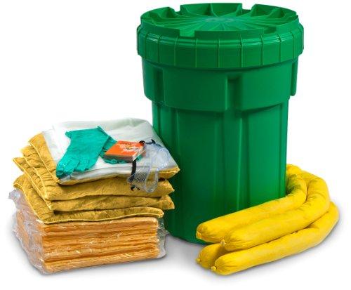 Esp Sk-H30 56 Piece 30 Gallons Hazmat Absorbent Ecofriendly Spill Kit, 25 Gallons Absorbency, Yellow front-148957