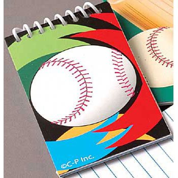Sports Notebooks - Baseball - 1
