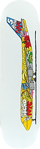 5Boro 5B Airlines JFK 747 White Skateboard Deck - 8.25 x 32 6 5 adult electric scooter hoverboard skateboard overboard smart balance skateboard balance board giroskuter or oxboard