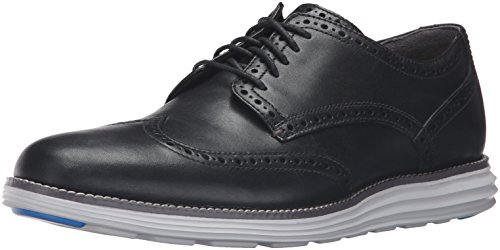 Cole Haan Men's Original Grand Wingtip Oxford, Black/Storm Cloud, 10.5 M US (Cole Haan Dress compare prices)